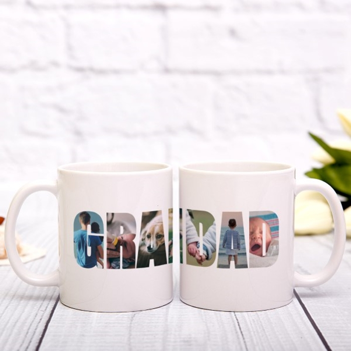 Picture of Grandad Photo Personalised Mug