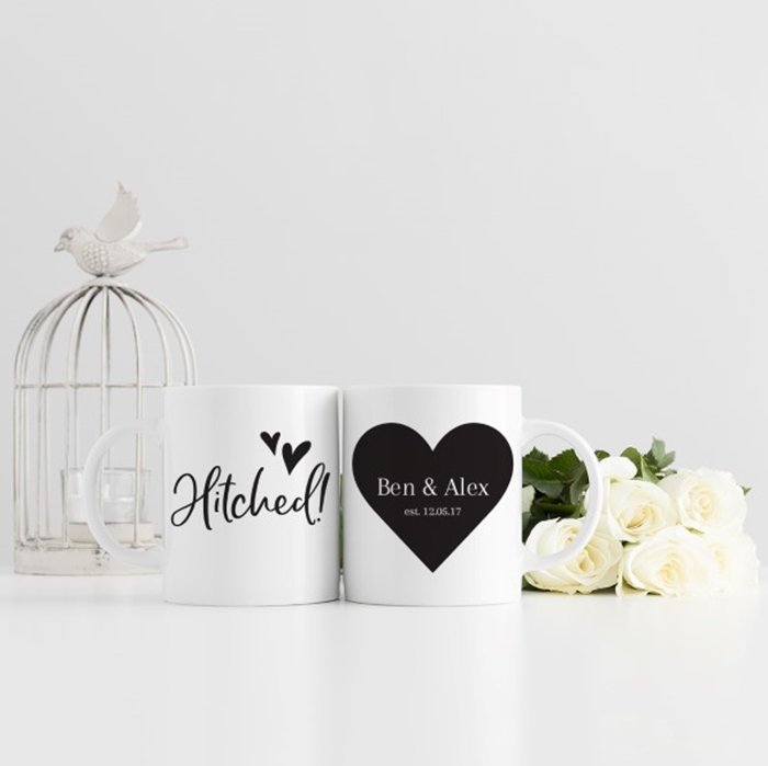 Picture of Hitched personalised mug