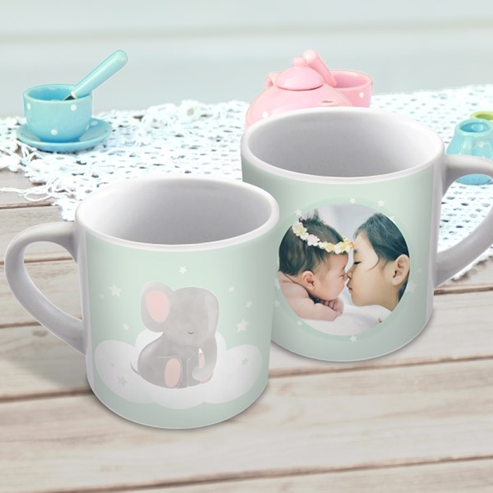 Picture of Baby Elephant child's personalised mug