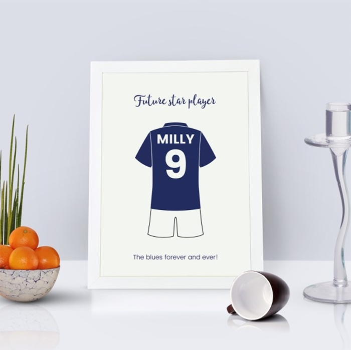 Picture of A4 Sports Kit personalised poster