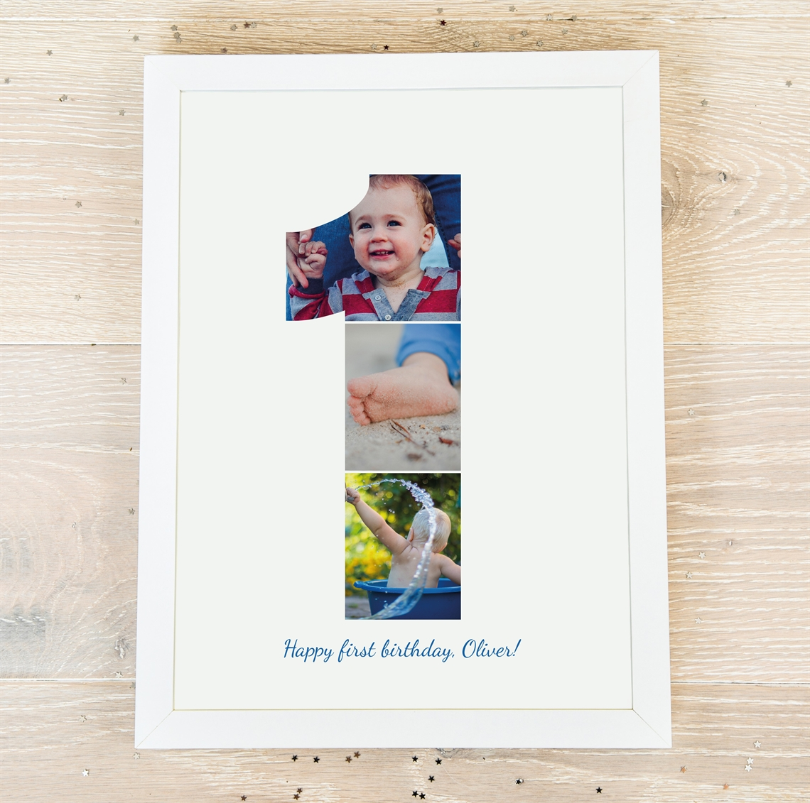 Picture of 1 year personalised poster