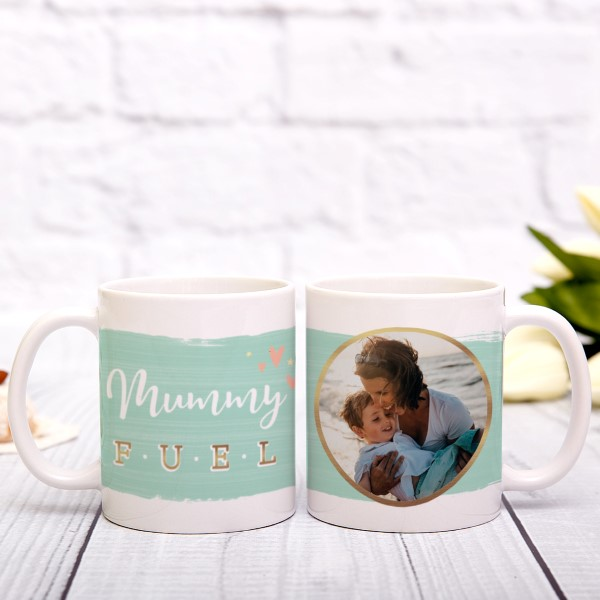 Picture of Any names fuel photo personalised mug