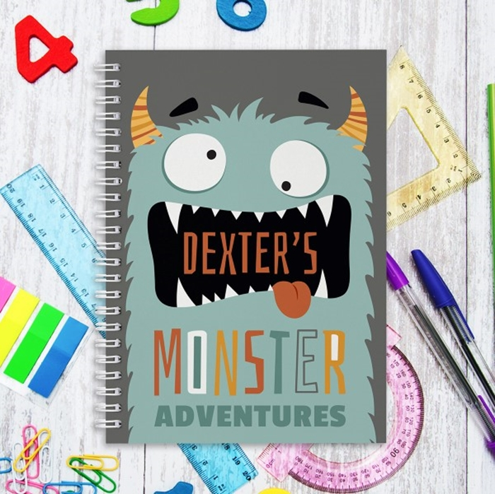 Picture of A5 Monster hardcover spiral notebook