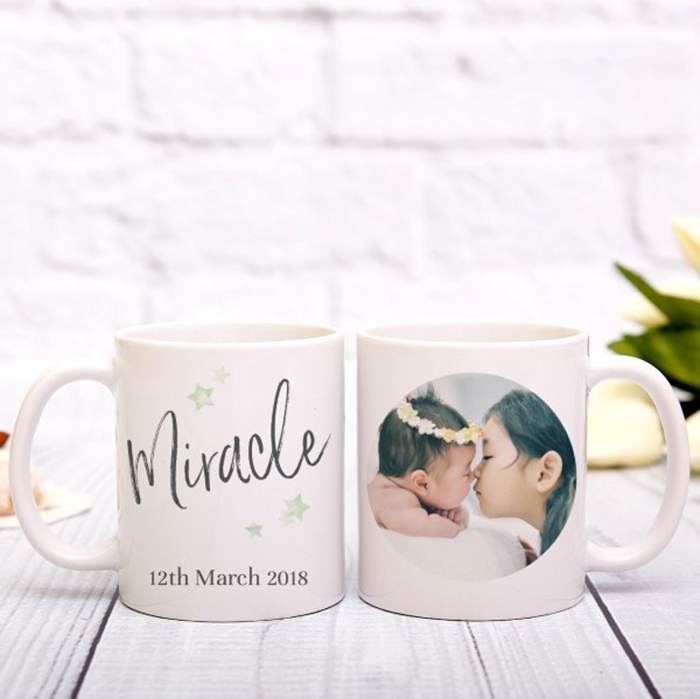 Picture of Miracle personalised mug