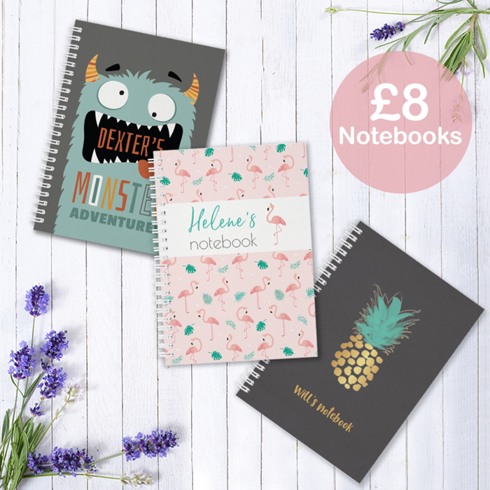 Picture for category Personalised notebooks