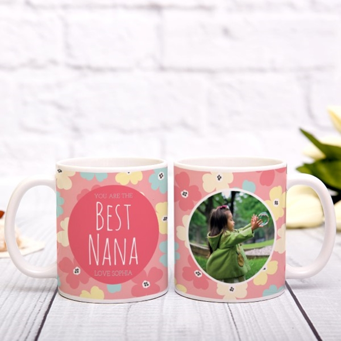 Picture of Best Grandma/Nanny/Nanna/Nan personalised mug