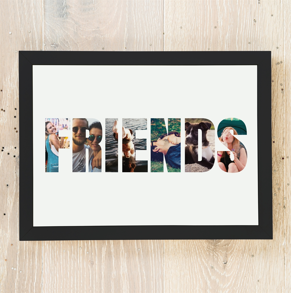 Picture of A4 Friends Photo personalised poster