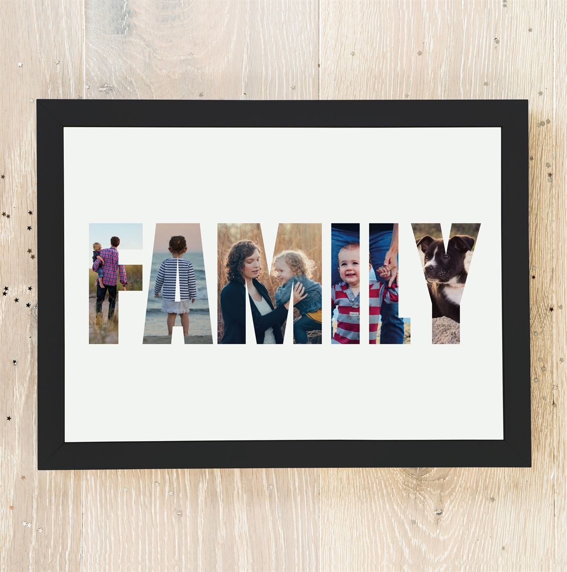 Picture of A3 Family Photo personalised poster