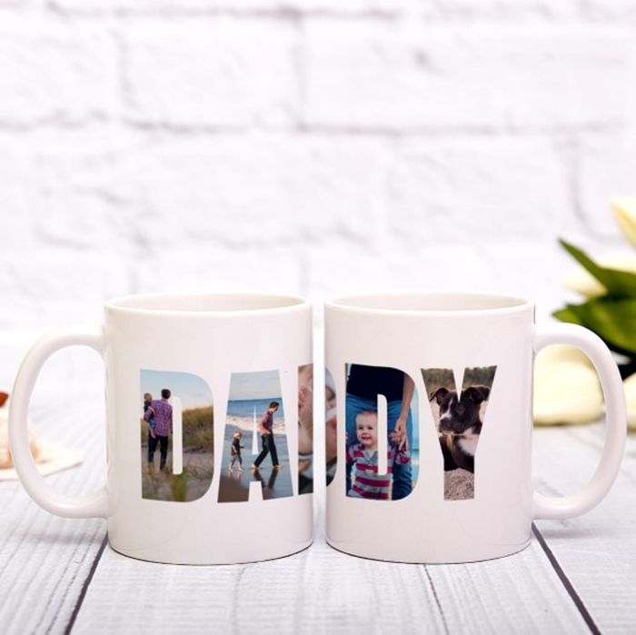 Picture of Daddy Photo Personalised Mug