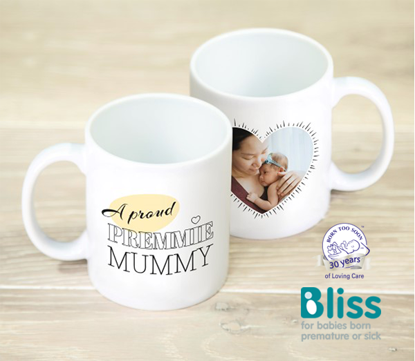 Picture of A proud premmie personalised mug