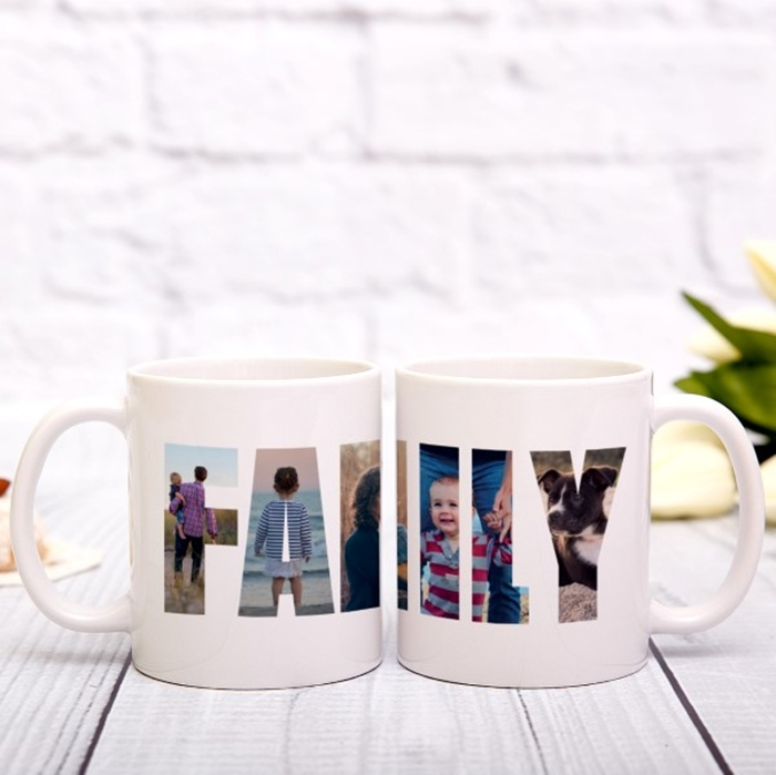 Picture of Family Photos Personalised Mug