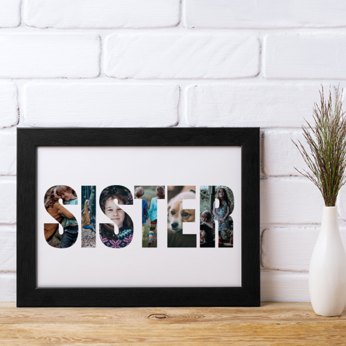 Picture of Sister Photo personalised poster