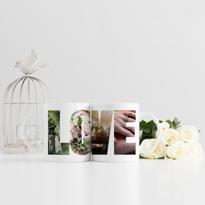 Picture of Love Photo Personalised Mug
