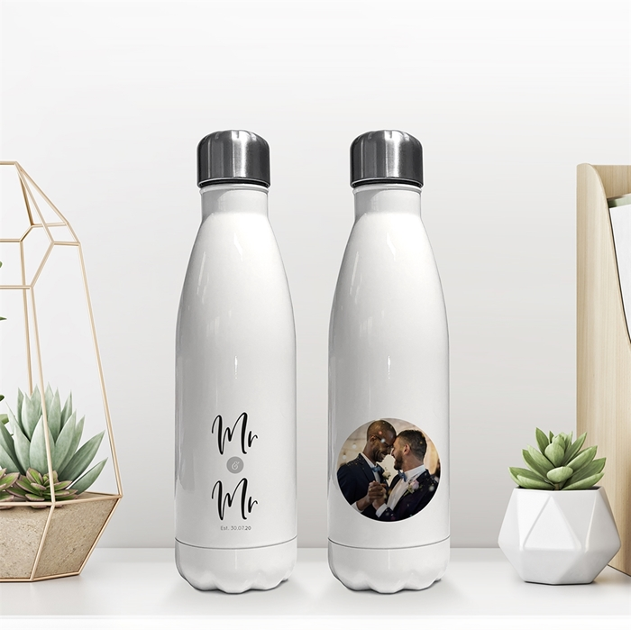 Picture of Mr & Mr insulated water bottle