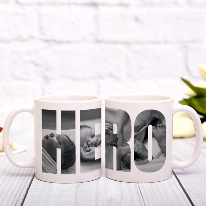 Picture of Hero Photo Personalised Mug