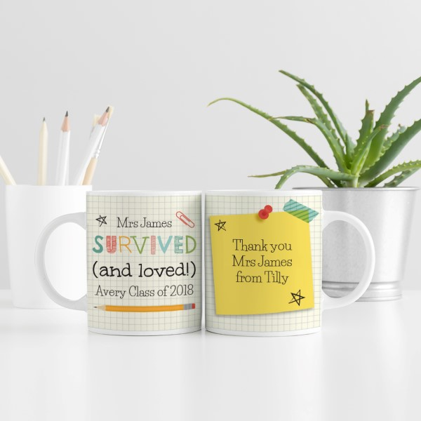 Picture of Teacher fun personalised mug