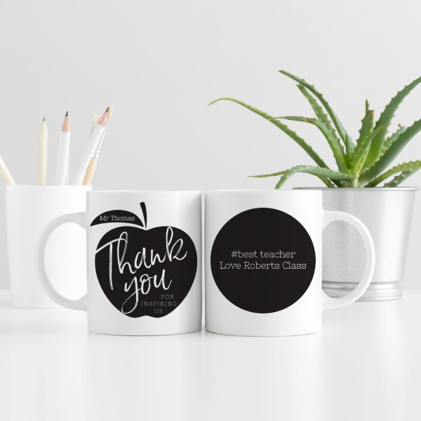 Picture of Teacher Thank You personalised mug