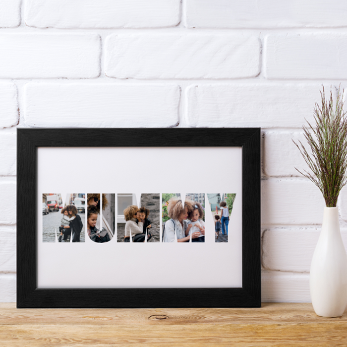 Picture of Mama photo personalised poster