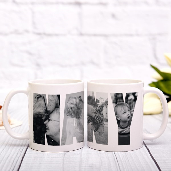 Picture of Nanny Photo Personalised Mug