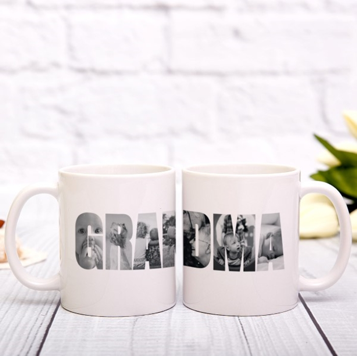 Picture of Grandma Photo Personalised Mug