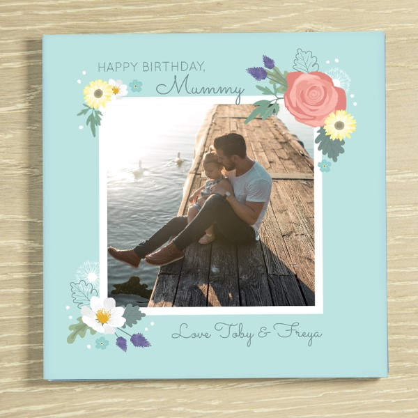 Picture of Happy Birthday Mummy personalised chocolate card