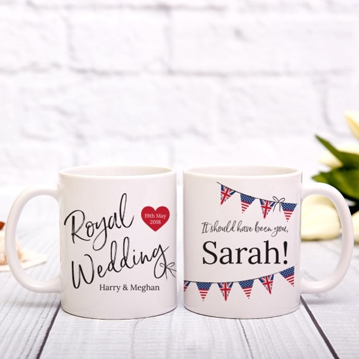 Picture of Royal Wedding personalised mug