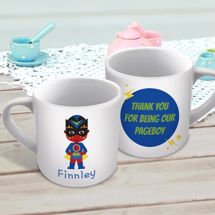 Picture of Superhero Boy child's personalised mug