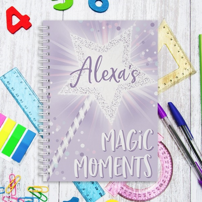 Picture of A5 Magical hardcover spiral notebook