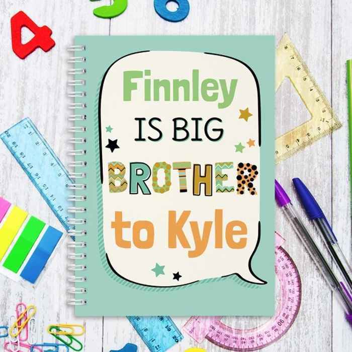 Picture of A5 Big Brother hardcover spiral notebook