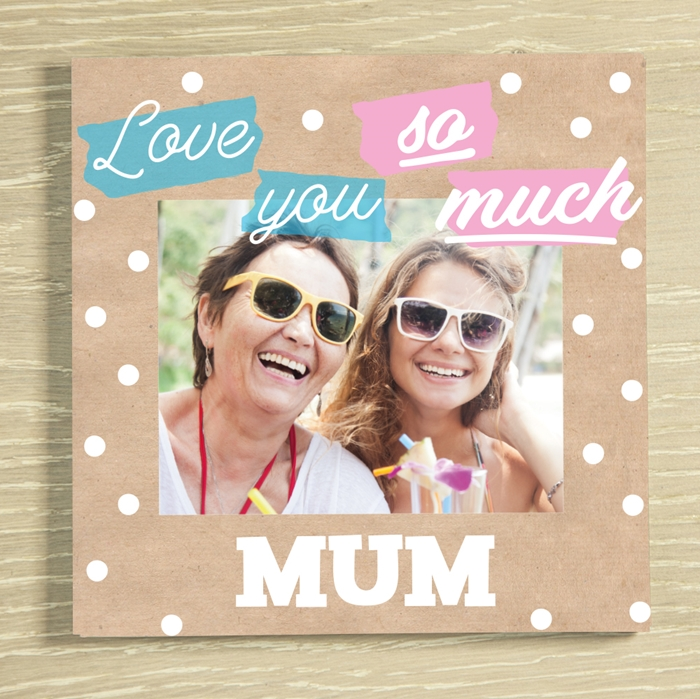 Picture of Love you so much personalised chocolate card