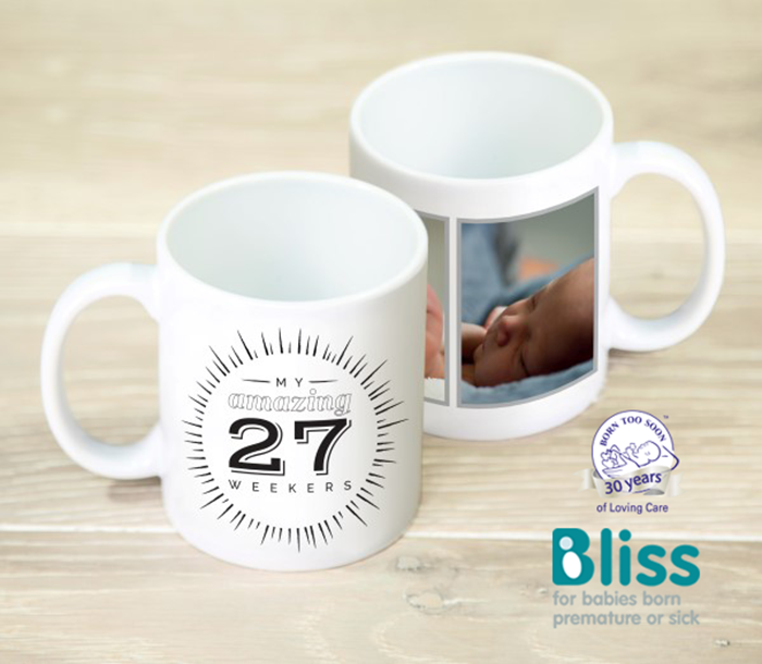 Picture of Amazing premature twins personalised mug