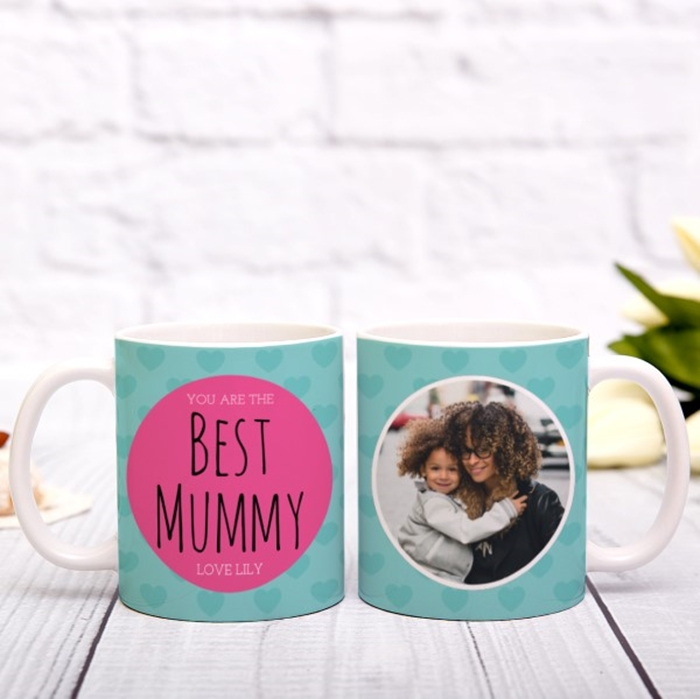 Picture of Best Mummy personalised mug