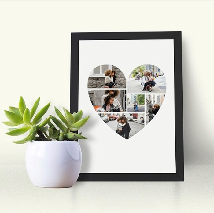 Picture of Heart Photo personalised poster