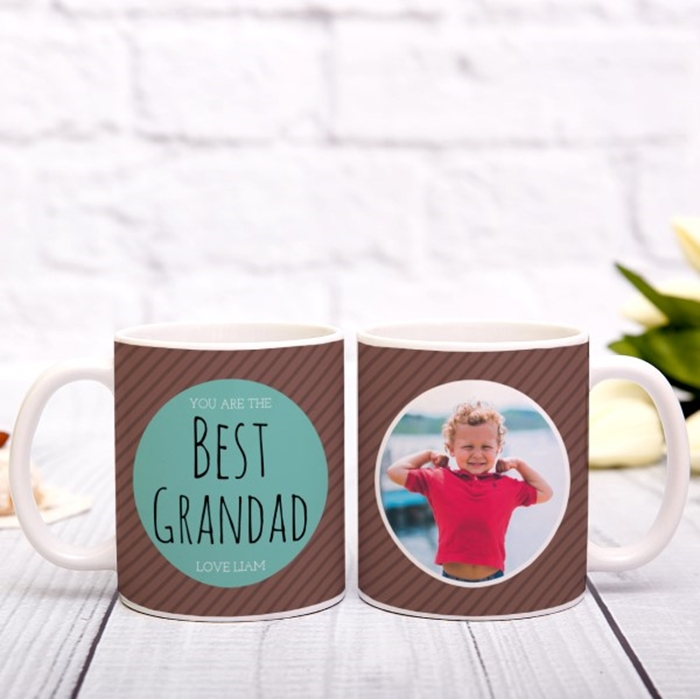 Picture of Best Grandad personalised mug