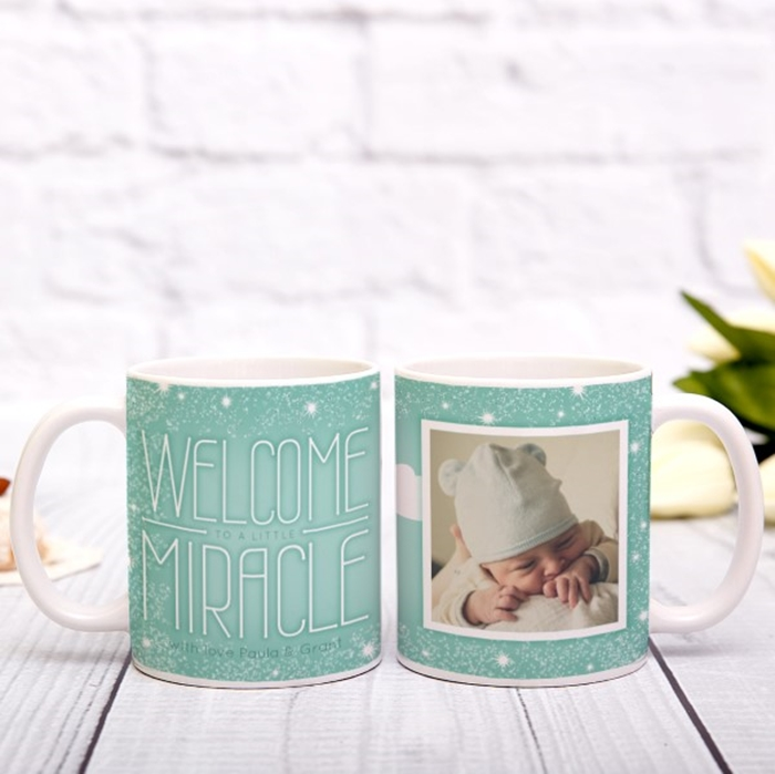Picture of Little Miracle personalised mug
